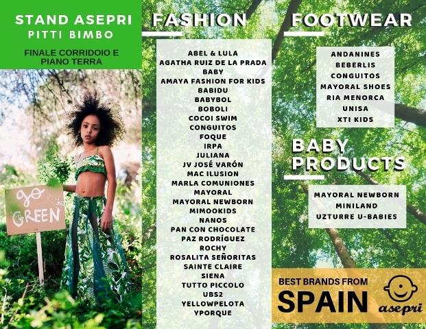Asepri y las marcas españolas en pitti bimbo